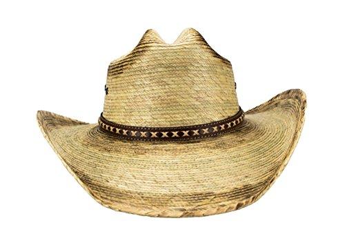 Rising Phoenix Large Mexican Palm Leaf Cowboy Hat e038e3bde08a