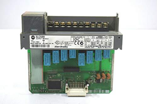 Allen Bradley SLC500 1746-OW8 8 ch-Relay Output Module Programmable Controller Allen Bradley Plc Controllers