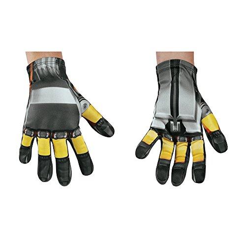 Disguise Bumblebee Movie Child Gloves, One -
