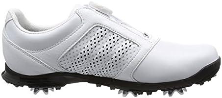 uk availability 1b166 b6dea adidas Adipure Boa Chaussures de Golf Femme, Blanc (White Core Black), 36.  Chargement des images en cours.