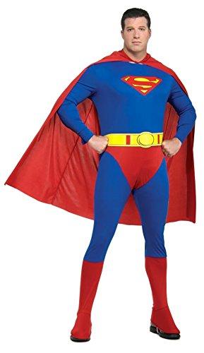 SALES4YA Adult-Costume Superman Adult Plus Size Halloween Costume