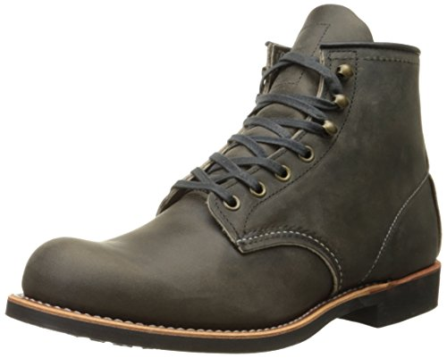 Red Wing Heritage Men's Blacksmith Work Boot, Charcoal Rough and Tough, 10 D - Boots Wing Men Red Work
