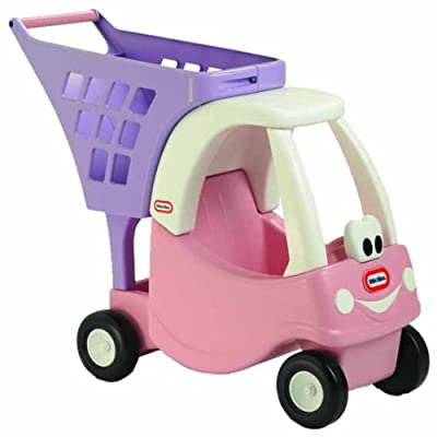 Little Tikes Cozy Shopping Cart Pinkpurple from Little Tikes