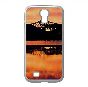 Where The Fire And The Water Become One Watercolor style Cover Samsung Galaxy S4 I9500 Case (Sun & Sky Watercolor style Cover Samsung Galaxy S4 I9500 Case) by icecream design