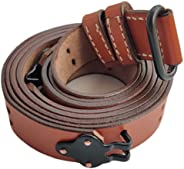 Warcraft Exports US Springfield Rifle WWII 1907 Pattern M1 Garand Leather Sling Brown