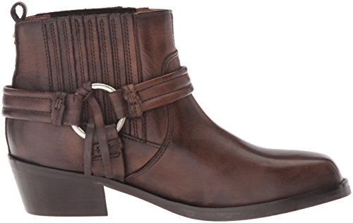 Squar Leather Diesel Dark Women's Boot Harless Brown 0ttq5wRz