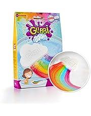 Simba 105953451 - Glibbi Boom Badspeelgoed, badbom, wolkenvorm, magisch regenboogeffect, vanaf3 jaar, meerkleurig