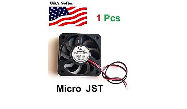 9Blades 12V 0.08A  50mm Cooling Computer Fan 5010 50x50x10mm DC 3D Printer 2-Pin