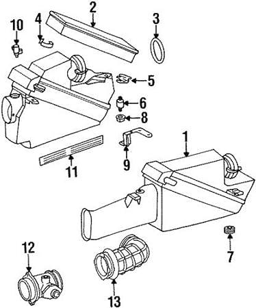 Mercedes Benz Genuine Intake Pipe 120-141-14-90