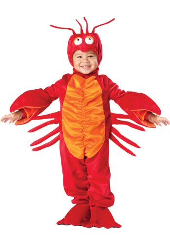 InCharacter Lil' Lobster Toddler Costume-Medium (4T) Blue
