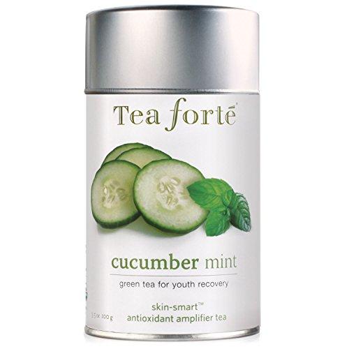 Tea Forte Skin-Smart CUCUMBER MINT Organic Loose Leaf Green