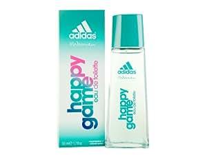 adidas Happy Game Women Eau De Toilette Spray, 1.7 Ounce
