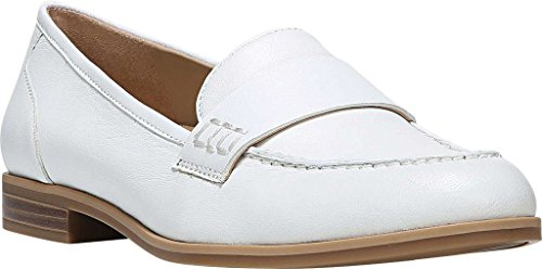 Naturalizer Womens Veronica Penny Mocassino In Pelle Bianca