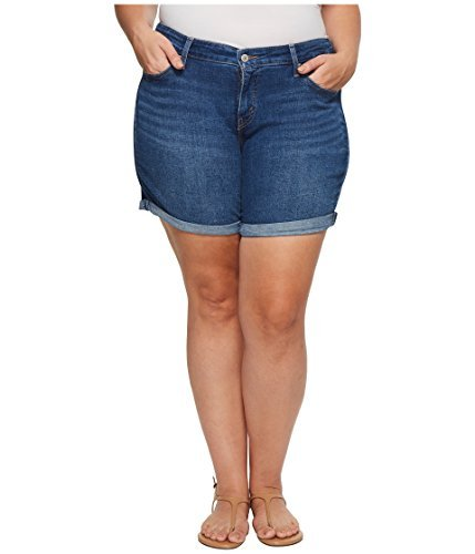 Levi's Women's Plus Size New Shorts, Sweetwater, 36 (US 16)
