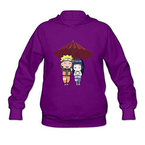 Price comparison product image Flycro Female Naruto Cool Style Sweatshirts Size XL Color Purple