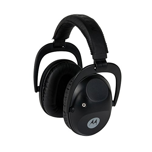 Motorola MHP61 Talkabout Isolation Earmuff with PTT Microphone Cable (Black)
