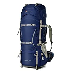 FeaturesCapacity:  1.An extension collar with two drawstrings on the top can expand the pack and increase the main compartment capacity by 5 liters 2.Front sleeping bag compartment with divider  3.Internal hydration bladder¡¯s sleeve and one ...