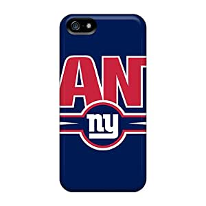 New ZkWMZ449FchwN New York Giants Skin Case Cover Shatterproof Case For Iphone 5/5s