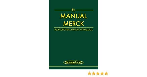 manual merck de medicina pdf