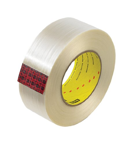 Scotch Filament Tape 8919MSR Clear, 72 mm x 55 m, Conveniently Packaged (Pack of 1) by Scotch