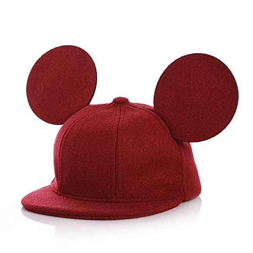 Cotton Shearling Blanket - Children Boys Girls Cap Baby Baseball Caps Infant Kids Winter Hats Autumn Cute Big Ears Casual Hip Hop Woolen Snapback