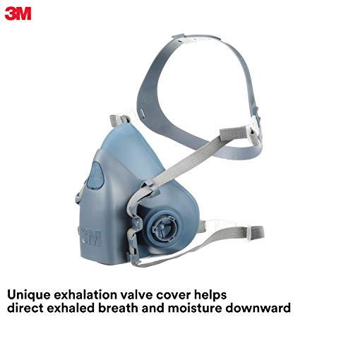 3M Medium Half Facepiece Reusable Respirator 7502/37082(AAD), Respiratory Protection, Medium