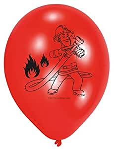 Brandweerman Sam Ballonnen, 6st. by Amscan