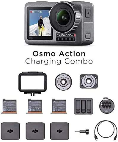 DJI Osmo Action Charging Combo - Digital Camera with: Amazon.co.uk: Camera & Photo