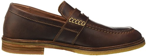 para Flow Mocasines Clarks Mahogany Clarkdale Marrón Leather Hombre w8tWAZq