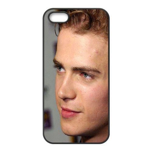 Hayden Christensen Guy Young Eyes Hair coque iPhone 5 5S cellulaire cas coque de téléphone cas téléphone cellulaire noir couvercle EOKXLLNCD24309