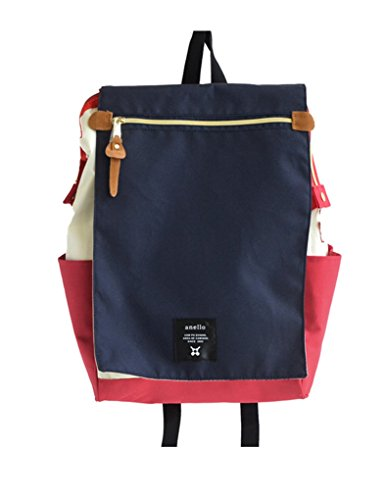 Anello Polyester Canvas Flap Luck Sack (Tricolor) (Color Tri Bag Sport)