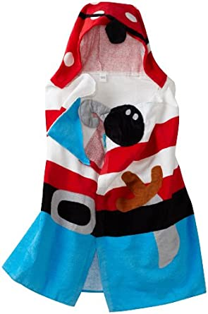 Pirate Children's Hooded Bath Towel