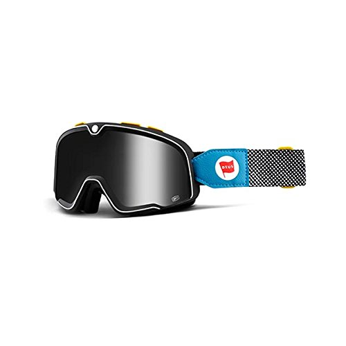 Price comparison product image 100% Barstow Adult Off-Road Goggles - Deus 17 Silver Lens / One Size