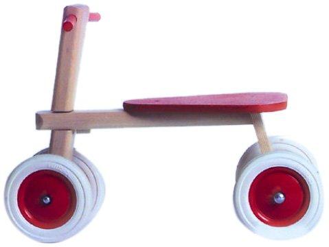 Frör Plaho 15202 - Holz-Sitz-Roller, 4 Räder