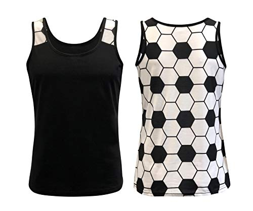 (ILTEX Sports Tank Tops for Mom Fans Apparel Baseball Softball Basketball Soccer Volleyball (Soccer,)