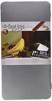 Royal & Langnickel Large Tin Pastel Artist Art Set