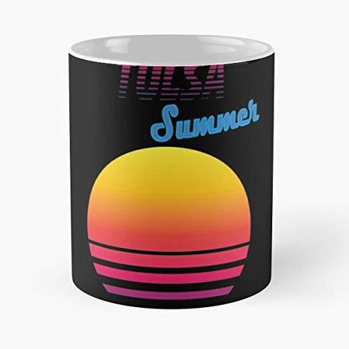 Retro Vintage 80s Tulsa - Best Gift Ceramic Coffee Mugs 11 Oz]()