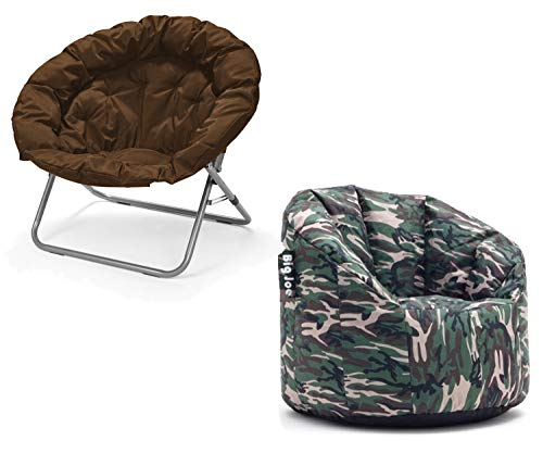 Urban Shop Oversized Folding Moon Chair, 35