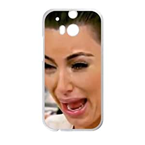 Happy kim kardashian crying Phone Case for HTC One M8