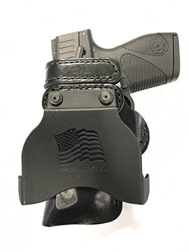 Paddle Holster For Sig Sauer 250 Compact RH Right Hand Black Concealed Carry Gun Holster