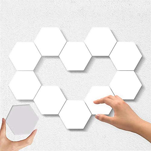 10PCS Hexagon Lights – Honeycomb Wall Lights Upgrade Touch Sensitive Hexagon LED