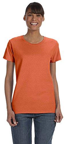 Gildan Heavy Cotton Ladies 5.3 oz. Missy Fit T-Shirt, 2XL, SUNSET - Gildan Ladies Tee