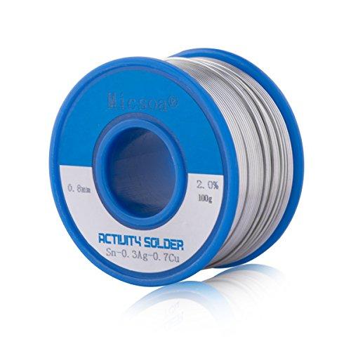 micsoa-lead-free-rosin-core-active-solder-wiresmoke-free-flux-core-welding-wire-003inch-sn99-ag03-cu