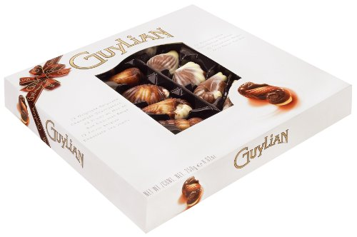 Guylian Belgium Chocolates Seashell Assortment, 8.8-Ounce Gift Boxes (Pack of 2)