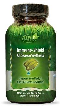 Irwin Naturals Immuno-Shield Softgels, 100 ct
