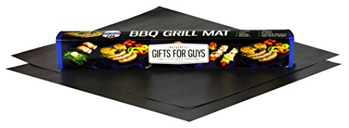 Gifts-for-Guys-BBQ-Grill-Mats-Set-of-2-Non-Stick-Essential-BBQ-Accessory-that-is-essential-for-any-dad-brother-men-or-guys-grilling-collection