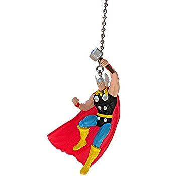Dc marvel comics super hero superhero character pewter ceiling thor the avengers superhero super hero dc comics vinyl ceiling fan pull light chain aloadofball Gallery