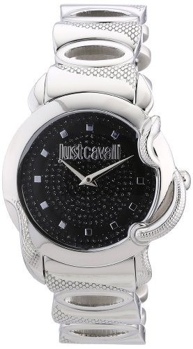 Just Cavalli R7253576502 – Reloj analógico para mujer de acero inoxidable negro