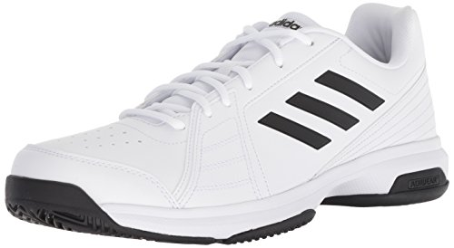 d5d1526283aa9 adidas Men's Approach Tennis Shoe, Black/White, 10.5 M US