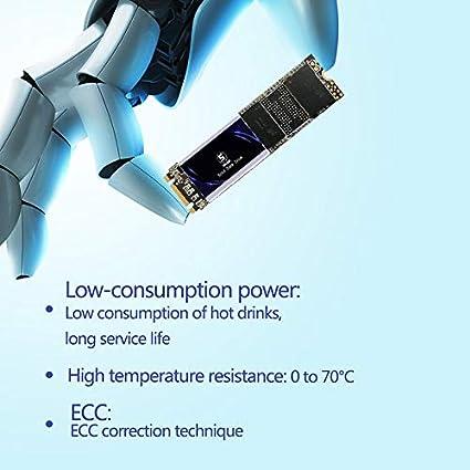s SSD 500G B, 2.5-SATA3 SSD SATA 2.5 500GB Shark Unidad de Estado s/ólido Interna Unidad de Disco Duro de Alto Rendimiento para computadora port/átil de Escritorio SATA III 6Gb